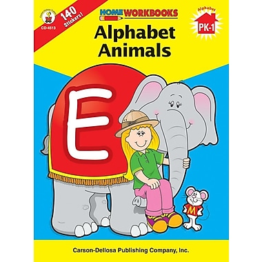 Carson-Dellosa Alphabet Animals Workbook