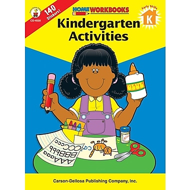 Carson-Dellosa Kindergarten Activities Workbook
