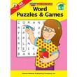 Carson-Dellosa Word Puzzles & Games Workbook, Grades K - 1