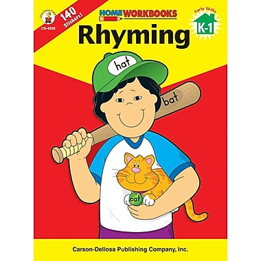 Carson-Dellosa Rhyming Workbook