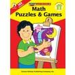 Carson-Dellosa Math Puzzles & Games Workbook, Grade 3