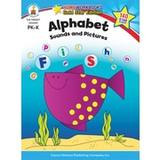 Carson-Dellosa Alphabet Resource Book, Sounds & Pictures, Grades PK - K