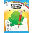 Carson-Dellosa Printing Practice for Beginners Resource Book