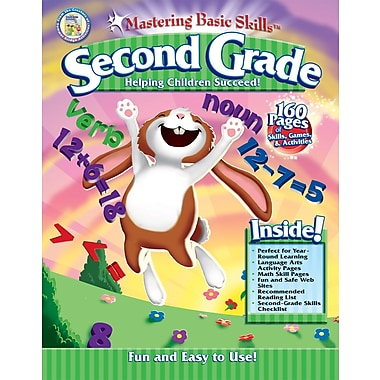 Rainbow Bridge Mastering Basic Skills® for Second Grade Workbook