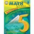 Mark Twain Math Games Resource Book, Grade 5