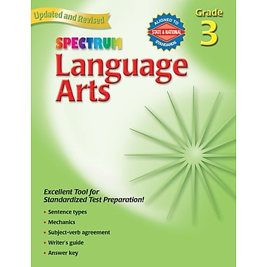 Spectrum Language Arts Workbook, Grade 3