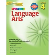 Spectrum Language Arts Workbook, Grade 4
