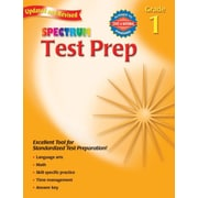 Spectrum Test Prep Workbook, Grade 1