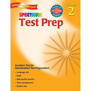 Spectrum Test Prep Workbook, Grade 2