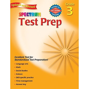 Spectrum Test Prep Workbook, Grade 3