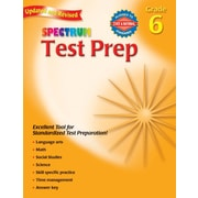 Spectrum Test Prep Workbook, Grade 6