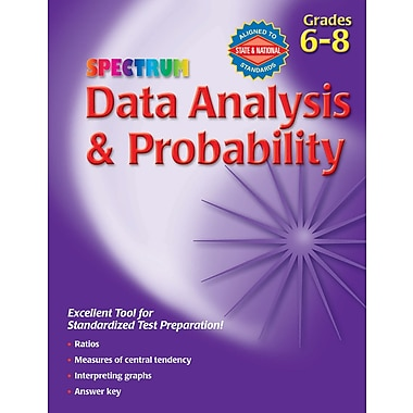 Spectrum Data Analysis & Probability Workbook