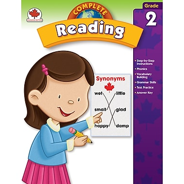 Carson-Dellosa Complete Reading Workbook, Grade 2