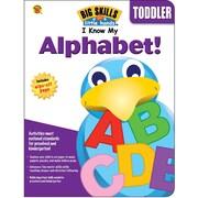 Brighter Child I Know My Alphabet! Workbook, 80 Pages