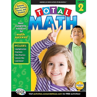 American Education Total Math Workbook, Grade 2