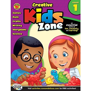 Brighter Child Creative Kids Zone Activity Book, Grade 1