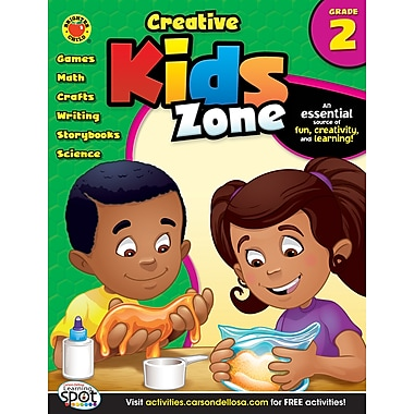 Brighter Child Creative Kids Zone Activity Book, Grade 2