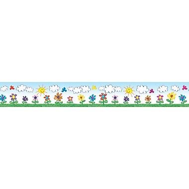 Carson-Dellosa Flowers Borders, Grades PK - 5