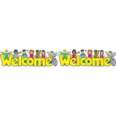 Carson-Dellosa Welcome Kids Borders