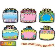 Carson-Dellosa Birthday Cakes Bulletin Board Set, Grades PK - 5