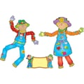 Carson-Dellosa Move & Pose Mr. & Mrs. Scarecrow Bulletin Board Set