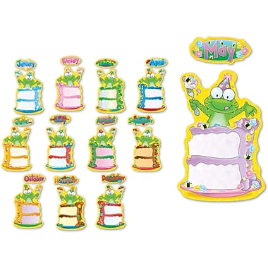 Carson-Dellosa Frog Birthday Bulletin Board Set