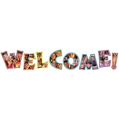 Carson-Dellosa Photographic Welcome Bulletin Board Set