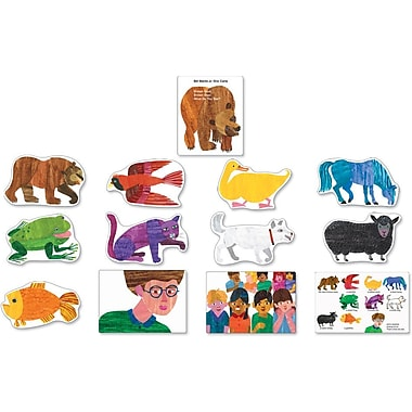 Carson-Dellosa Brown Bear, Brown Bear, What Do You See? Bulletin Board Set