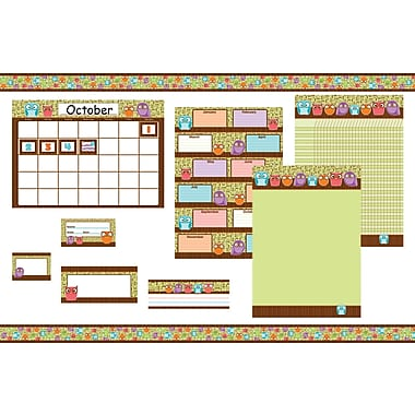 Carson-Dellosa Owls Classroom Collection Bulletin Board Set