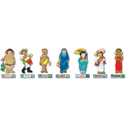 Carson-Dellosa International Kids Bulletin Board Set