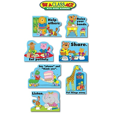 Carson-Dellosa Good Manners Bulletin Board Set