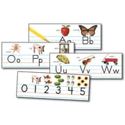 Carson-Dellosa Traditional Manuscript Alphabet with Photographs Bulletin Board Set