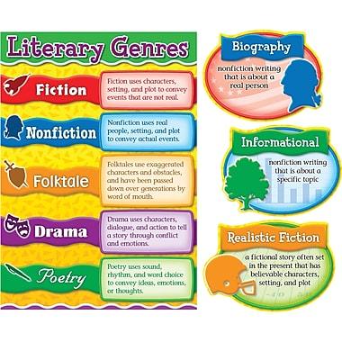 Carson-Dellosa Literary Genres Bulletin Board Set, Grades 3 - 5