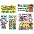Carson-Dellosa Good Manners Matter Bulletin Board Set