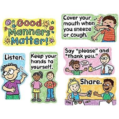 Carson-Dellosa Good Manners Matter Bulletin Board Set