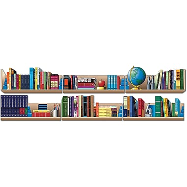 Mark Twain Bookshelf Topper Bulletin Board Set