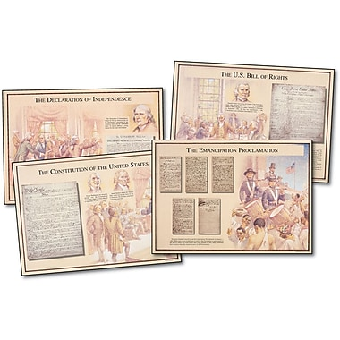 Mark Twain Famous U.S. Documents Bulletin Board Set
