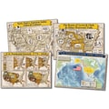 Mark Twain Historical Maps of The United States Bulletin Board Set