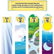 "Carson-Dellosa Publishing 210024 20.5"" x 5.5"" Christian & Vacation Bible School Bulletin Board Set, Multicolor"