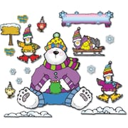 D.J. Inkers Polar Pals Bulletin Board Set