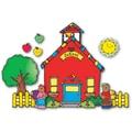 D.J. Inkers Schoolhouse Bulletin Board Set