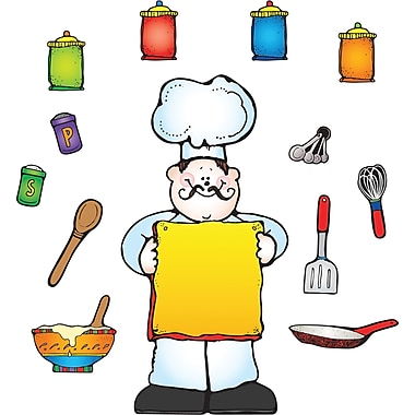 D.J. Inkers What's Cooking? Bulletin Board Set