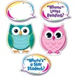 Carson-Dellosa Colorful Owl Talkers Bulletin Board Set