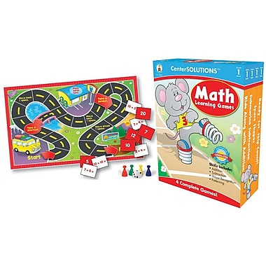 Carson-Dellosa Math Learning Games, Grade 1