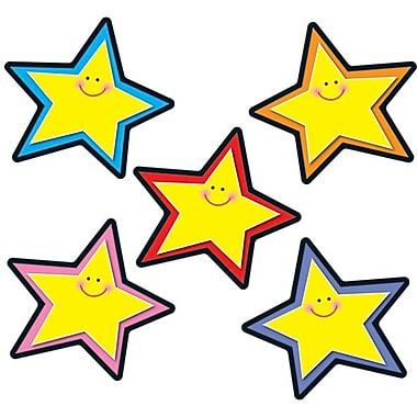 Carson-Dellosa Stars Cut-Outs, Assorted Colors, All Grades
