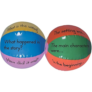 Four Blocks Guided Reading Beach Balls Manipulative