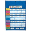 Carson-Dellosa Original Pocket Chart, Blue, All Grades