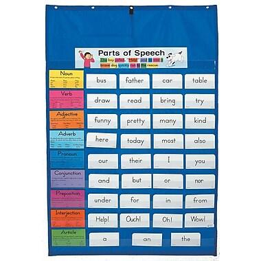 Carson-Dellosa Original Pocket Chart, Blue, All Grades
