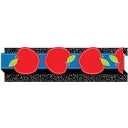 """Carson-Dellosa Publishing 108041 3' x 3""""Apples Straight Borders, Multicolor"""