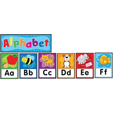 Carson-Dellosa Alphabet Bulletin Board Set